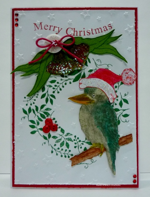 Barbnshell creations aussie christmas cards kaszazz the same products have been used on all cards with the exception of the main image and the sentiment stamped on the insert m4hsunfo
