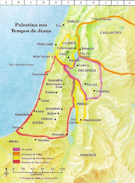 Resultado de imagem para distância entre Nazaré e Jerusalém