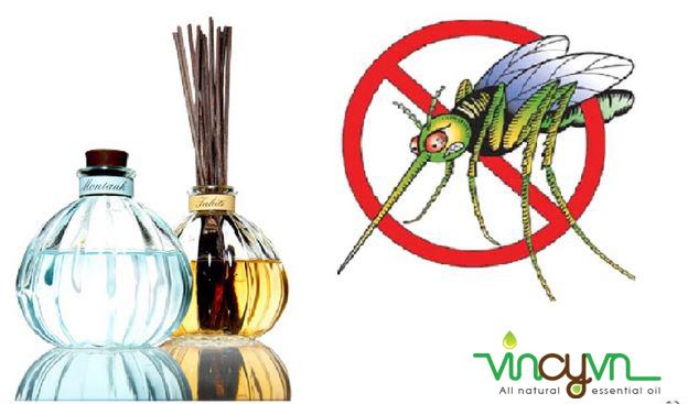 tinh dầu sả đuổi muỗi