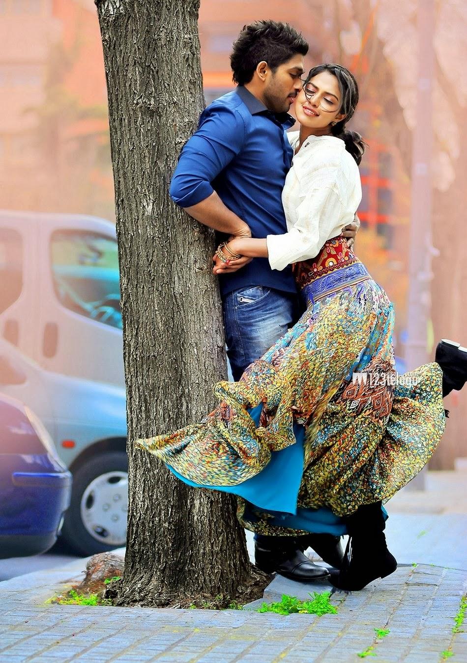 Allu Arjun Full Hd Wallpapers - Hot Photos In Saree-5646