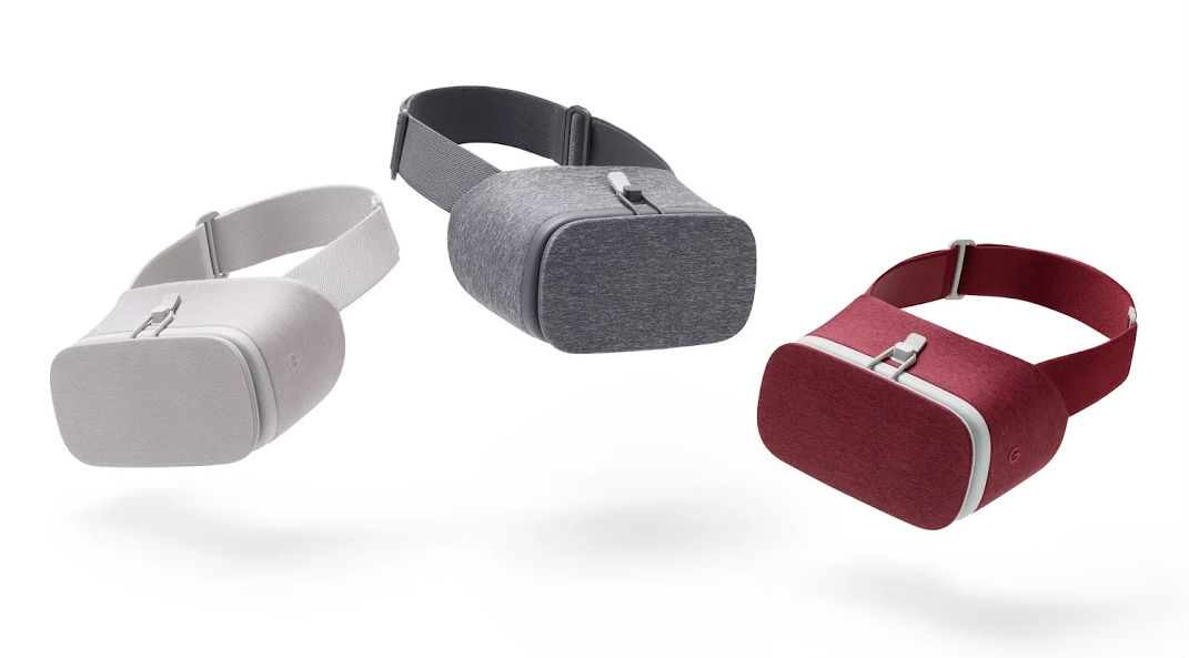 Google's Daydream View VR Headset Is Now Available In Crimson Red And White