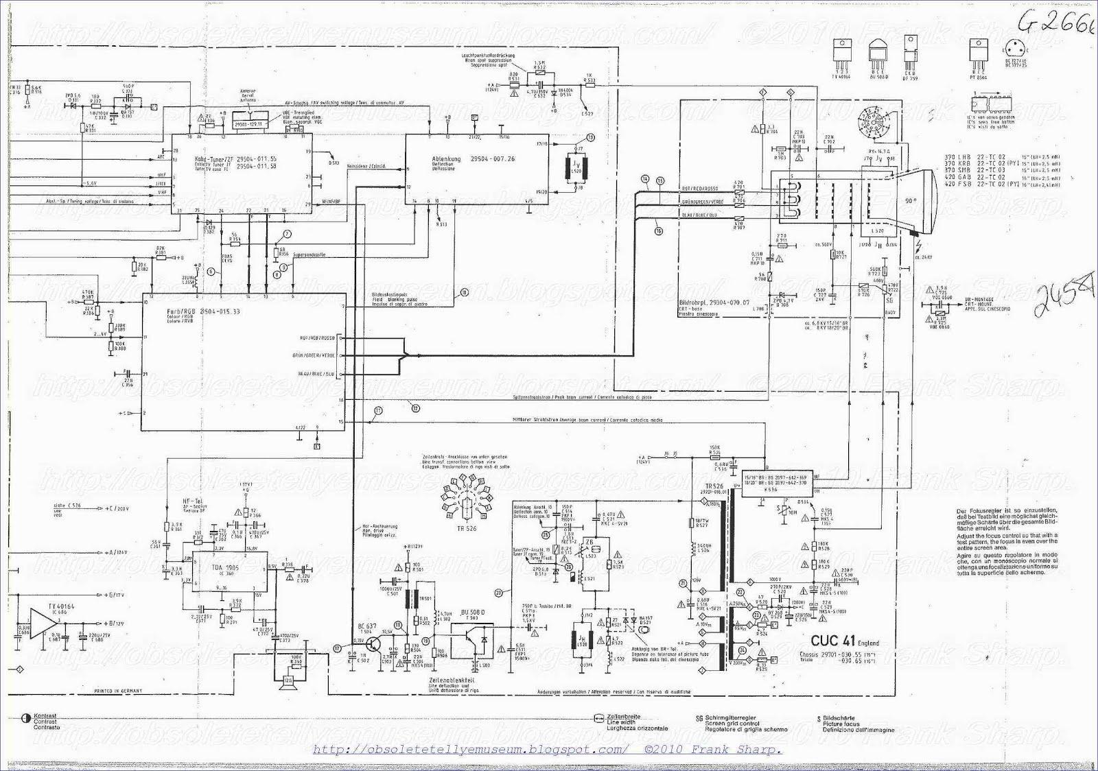 obsolete technology tellye    grundig super color c2205