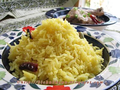 Bengali mishti polau