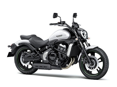 Kawasaki Vulcan S ABS white color