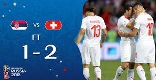 Serbia vs Swiss 2-1 Video Gol Highlights