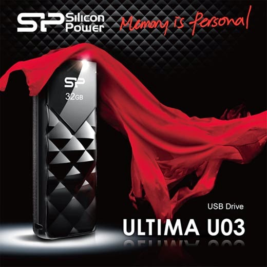 Silicon Power USB Flash Drive Ultima U03