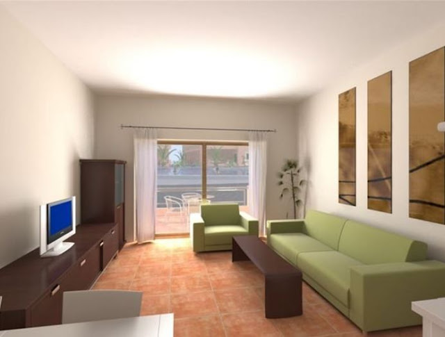 Desain Ruang Tamu Rumah Minimalis Type 45