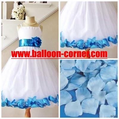 Rose Petals Warna Biru Muda