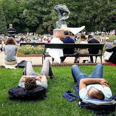Concierto de Chopin en Parque Lazienki