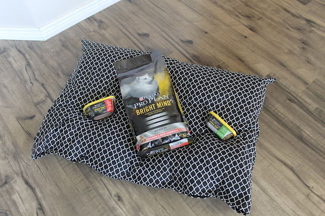 DIY Dog Pillowcase bed