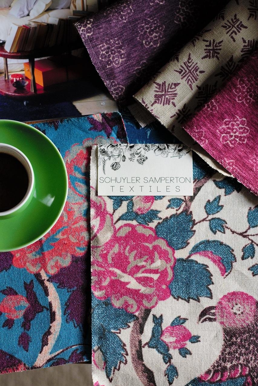 Schuyler Samperton Textiles · Lisa Hjalt