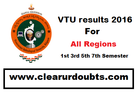 VTU results 2016 Nov