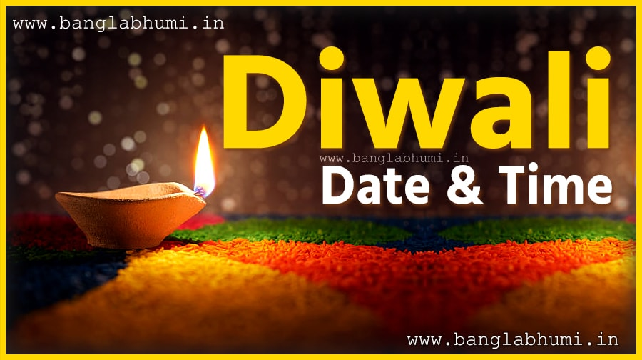 Diwali Puja Date & Time in India, Diwali Hindu Calendar