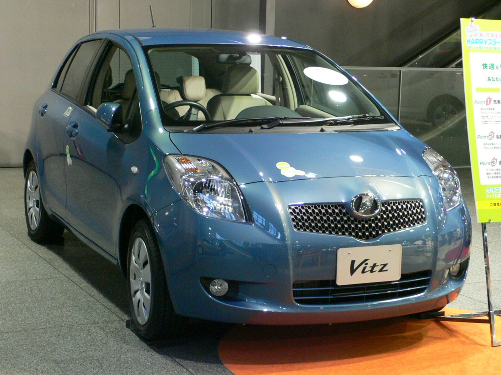 Toyota Vitz | Car Models