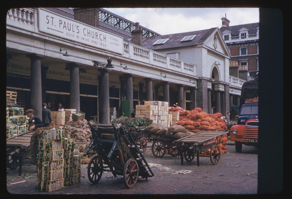 London In Color Photographs In 1960 And 1961 Vintage