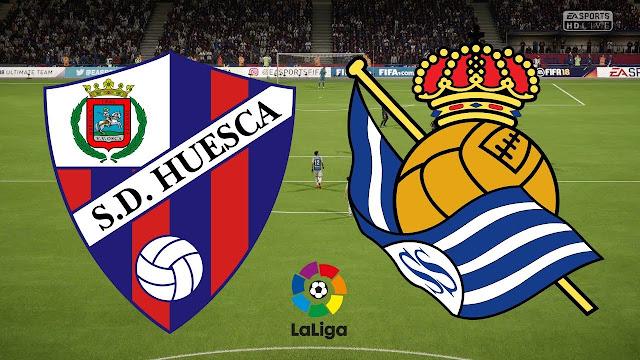 Prediksi La Liga Spanyol Huesca vs Real Sociedad 22 September 2018 Pukul 02.00 WIB