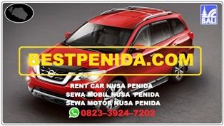 Sewa mobil Nusa Penida