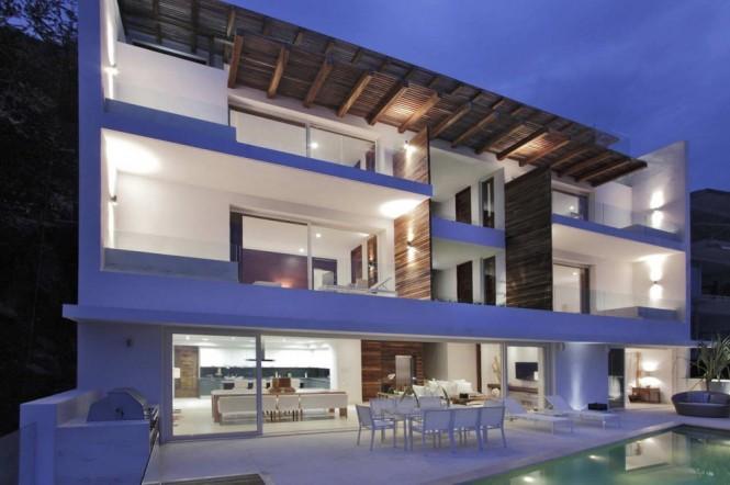 Hogares frescos belleza mexicana la casa almare for Arquitectura mexicana moderna