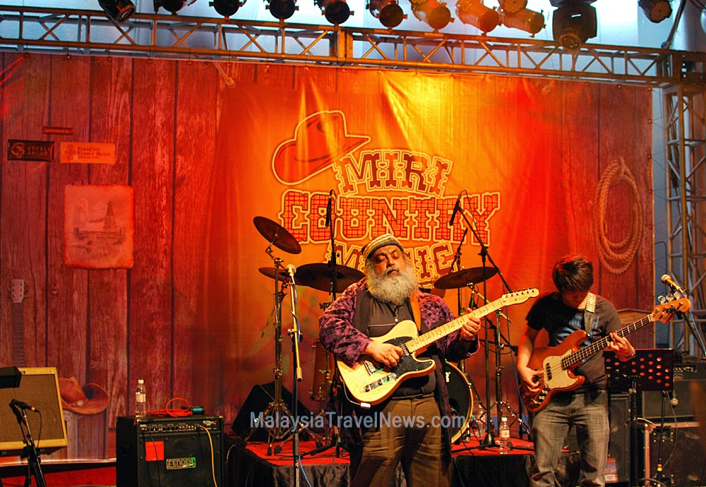 Wandering Mustangs at Miri Country Music Festival