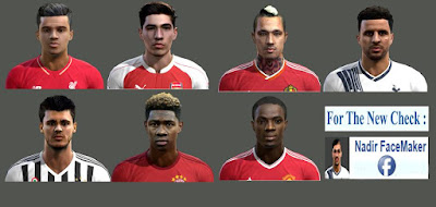 World Face Pack Pes 2013 By Nadir FaceMaker