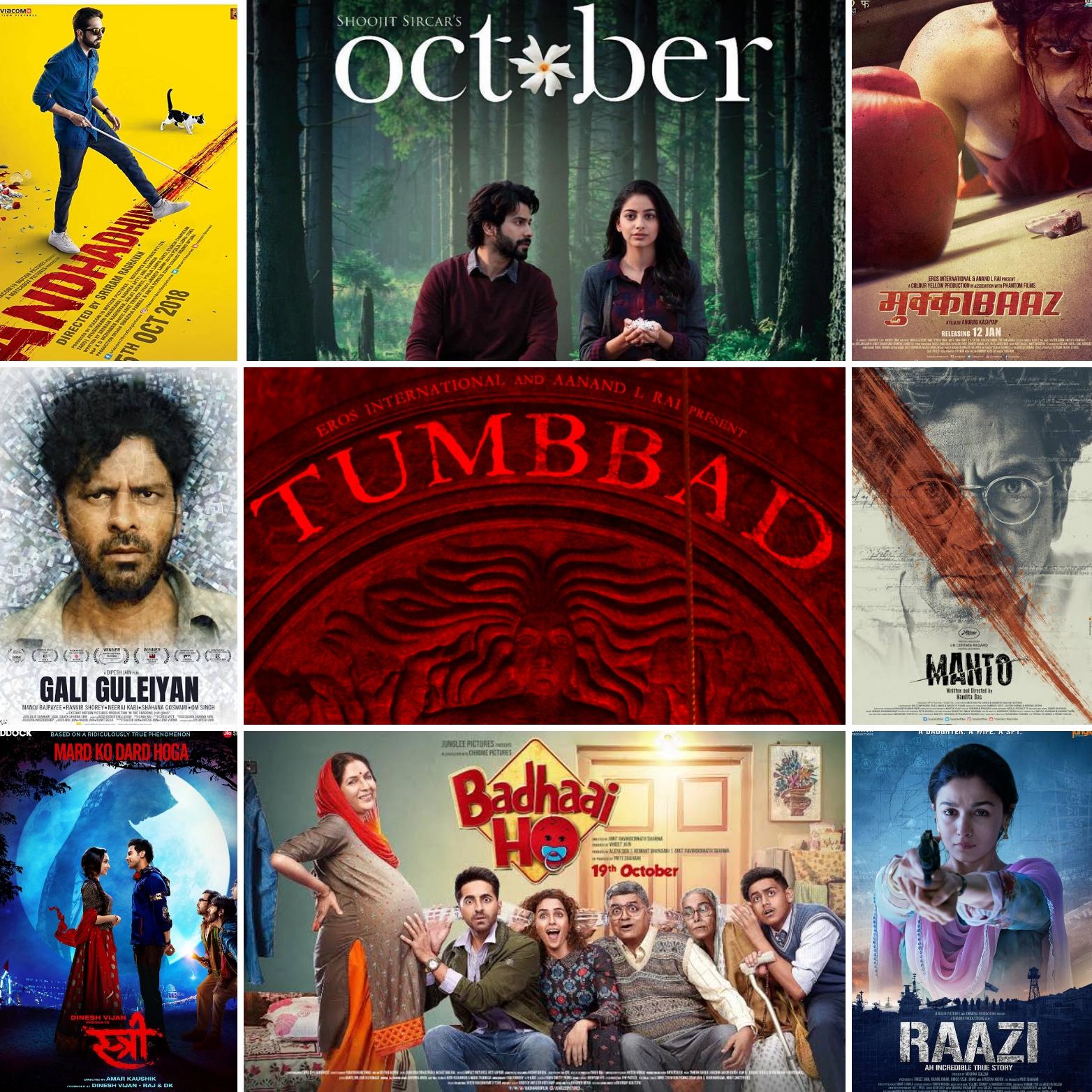 new hindi movie list 2018