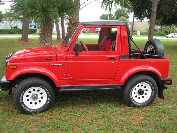 1986 Suzuki Samurai 4x4 Jeep For Sale Show Winner