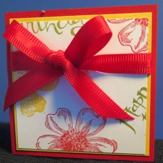 Let's start at the very beginning  gift cards Zena Kennedy Stampin Up independent demonstrator