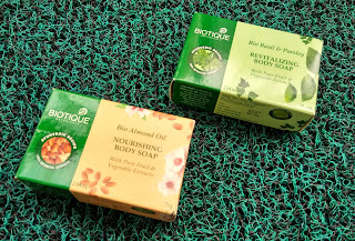 Biotique Botanicals Bio Almond Oil Nourishing Body Soap