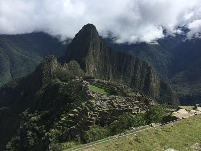 sitio arqueológico, ciudad inca. machu picchu
