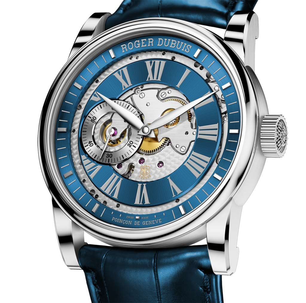 roger dubuis hommage open time and watches