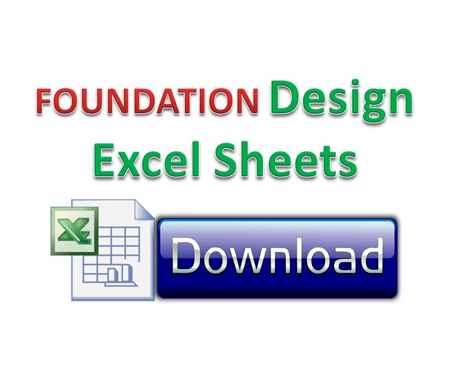 Foundation Design excel sheets   Engineer Cafe