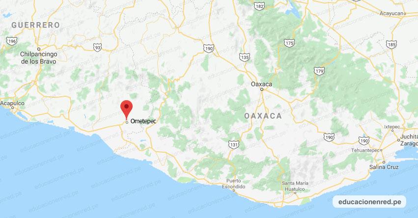 Temblor en México de Magnitud 4.3 (Hoy Jueves 02 Abril 2020) Sismo - Epicentro - Ometepec - Guerrero - GRO. - SSN - www.ssn.unam.mx