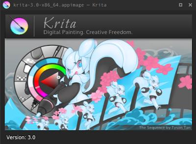 Install Krita 3.0 di Ubuntu