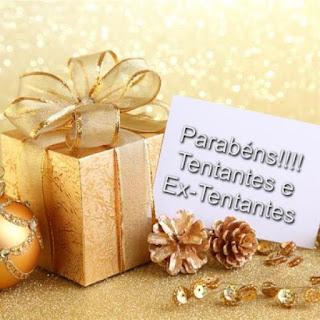 Parabéns às Tentantes e Ex-Tentantes