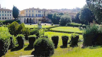 Torrigiani gardens in Florence, Italy