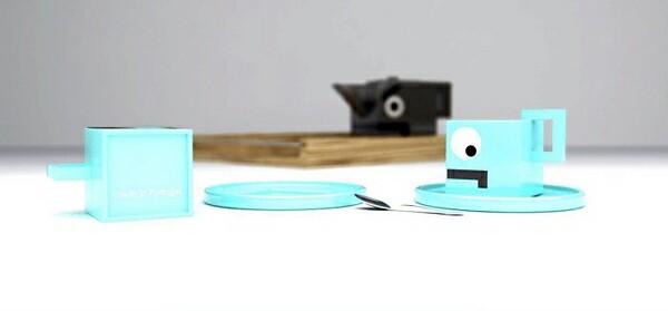 Nasty Set - A Creative and Funny Tea Set