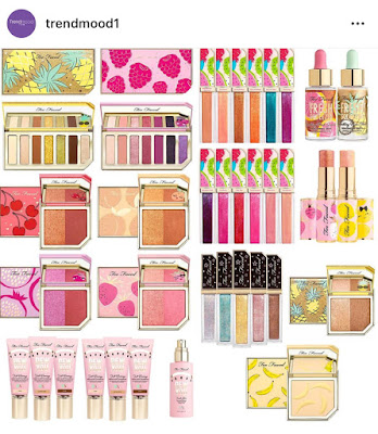 Trendmood1 Too Faced Tutti Frutti Collection