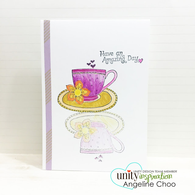 ScrappyScrappy: Unity Stamp BIG Blog Hop [NEW VIDEOS] - mirror stamping #scrappyscrappy #unitystampco #stamp #card #colleen #coloring #quicktipvideo #youtube