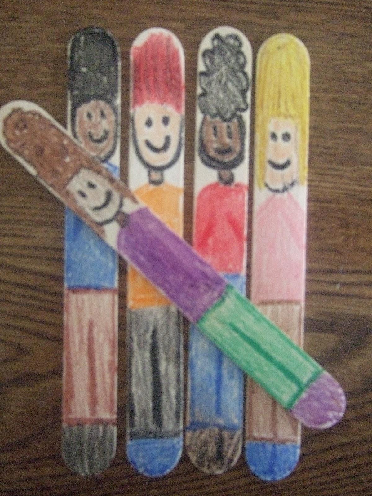 First Grade School Box Teaching Tally Marks