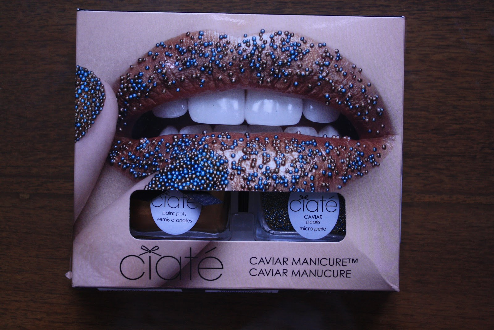 Maria And Elizabeth Nail Art Ciat 233 Caviar Manicure