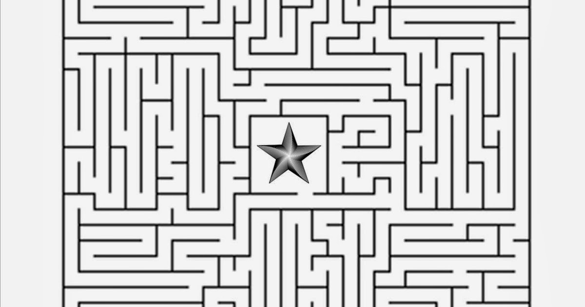 Follow The Star Christmas Maze Free Sunday School