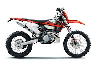KTM 250 EXC TPI (2018) Side