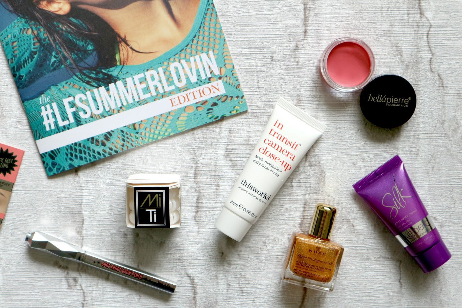 July 2016 Look Fantastic beauty box