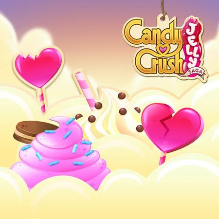 Candy Crush Jelly Saga level 681-700