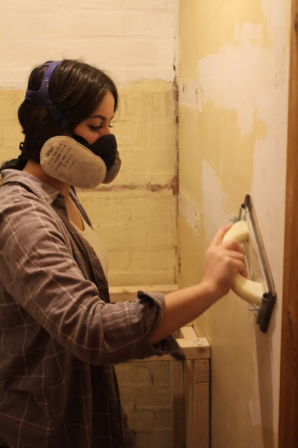 how to sand walls without getting cramp