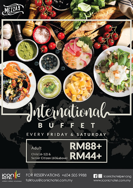 Iconic Hotel International Buffet Dinner