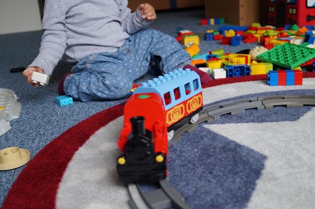 spielspaß mit der lego duplo bahn