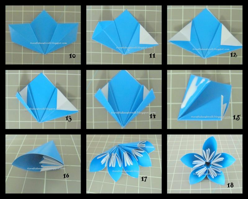 Origami Inflatable Ball Instructions