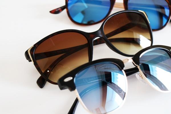 Shoppingausbeute Februar - www.josieslittlewonderland.de - fashion, new yorker shoppingausbeute, haul, fashion haul, sunglasses, sonnenbrille mit blauen gläsern, cateyes sonnenbrille new yorker, sonnenbrille von new yorker