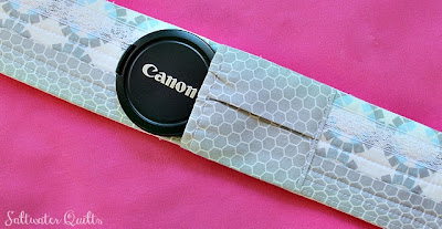 Camera Strap Tutorial | © Saltwater Quilts 2012